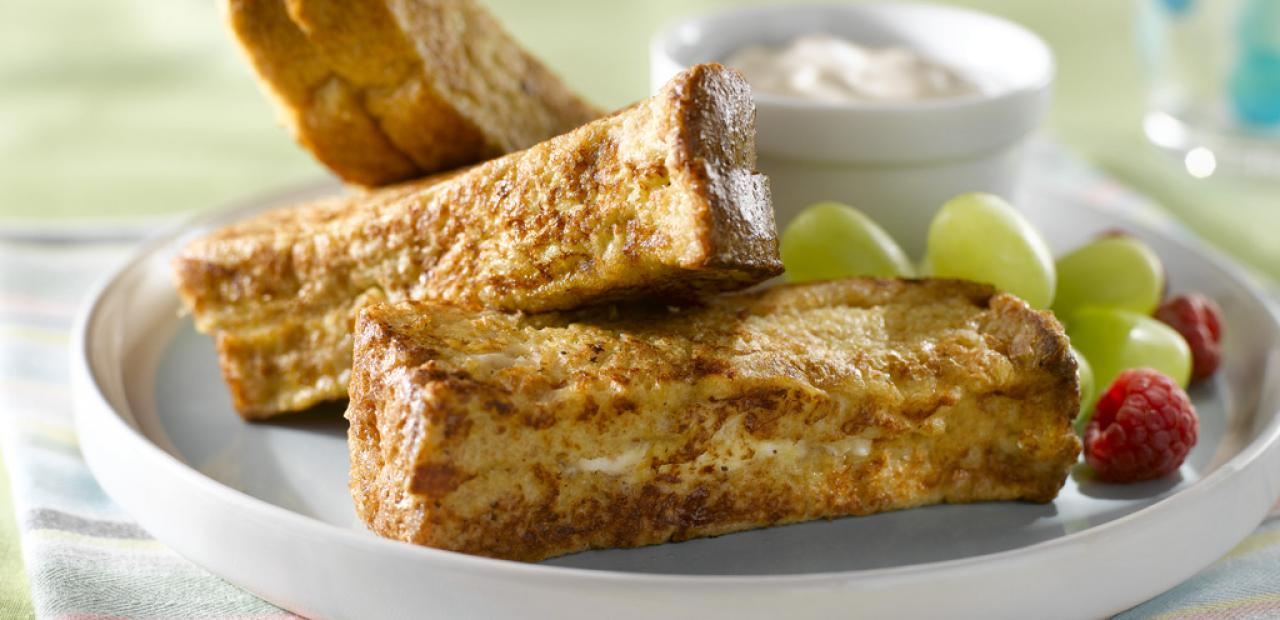Peach stuffed french toast sticks eggs enjoy this peach stuffed version using whole wheat bread and an easy to make maple cream sauce for dipping a quick and fun breakfast thats ready in just ccuart Images