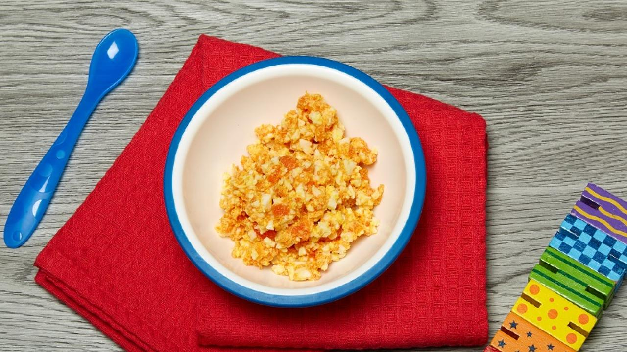 Egg and carrot mash eggs carrots are also very versatile and pair well with many other fruits and veggies your baby will love the bright orange colour of this delicious egg and forumfinder Choice Image
