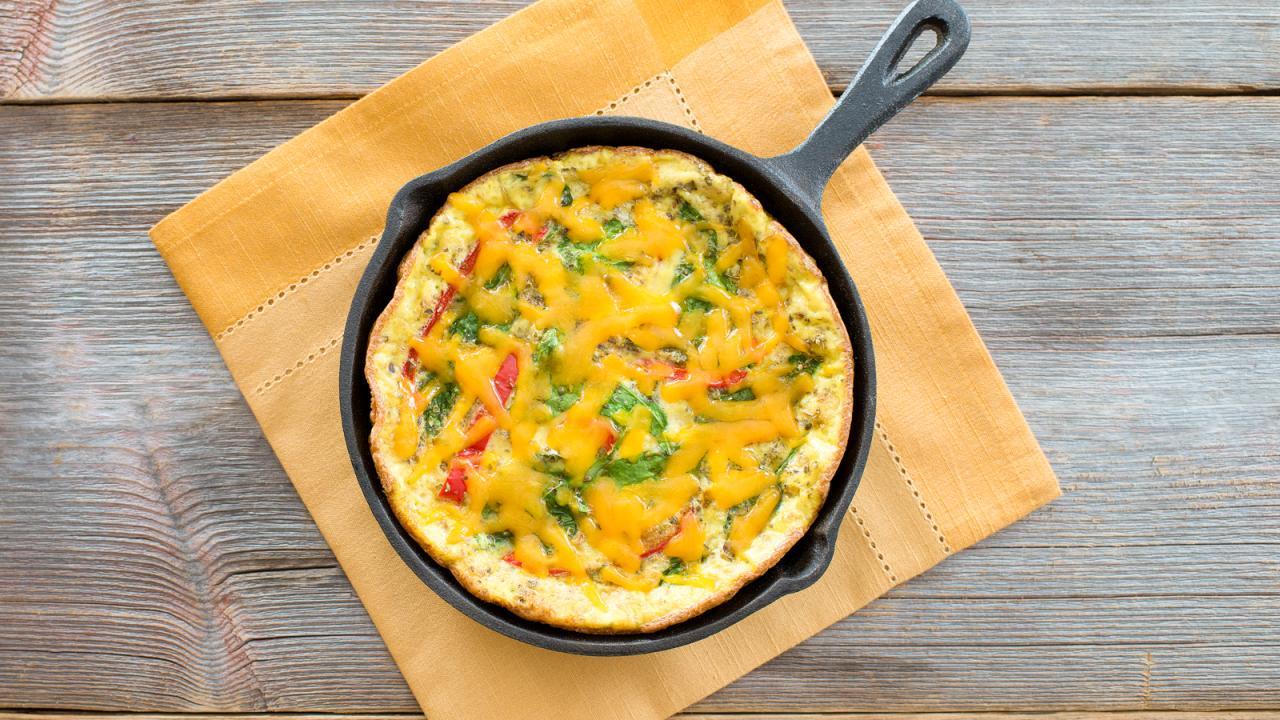 Basic Frittata Recipe Get Cracking