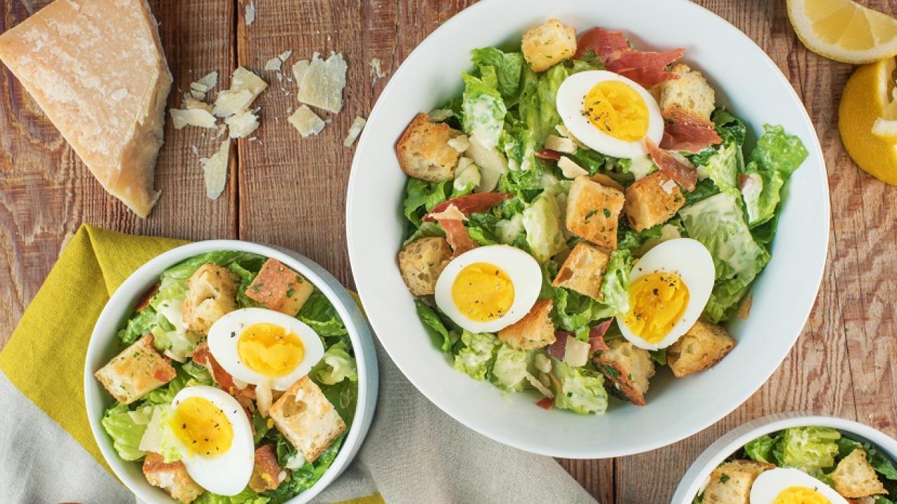 Caesar Salad Recipe Egg