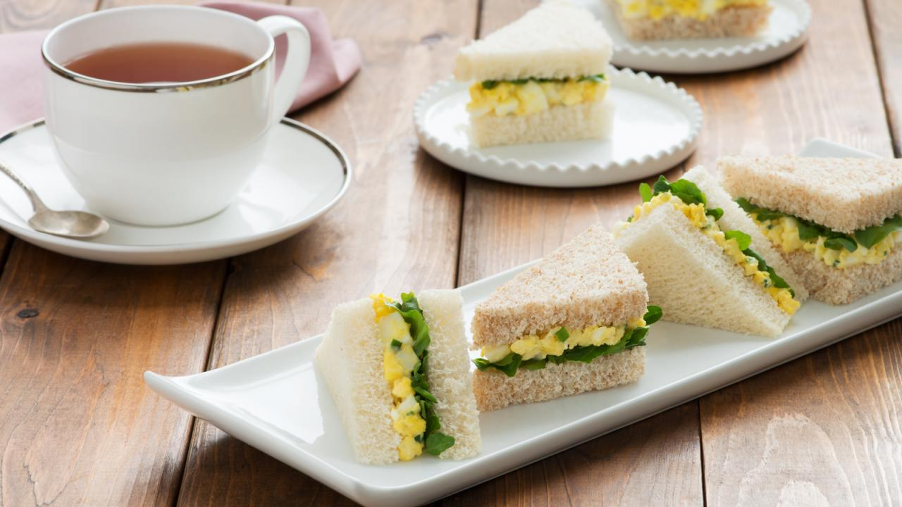 Egg Watercress Tea Sandwiches Recipe Get Cracking The fire and water sandwich is a recipe that you can make on your sandwich maker out of dragon fruit when water (the moisture in the bread) evaporates from a sandwich on a plate, it escapes to. egg watercress tea sandwiches