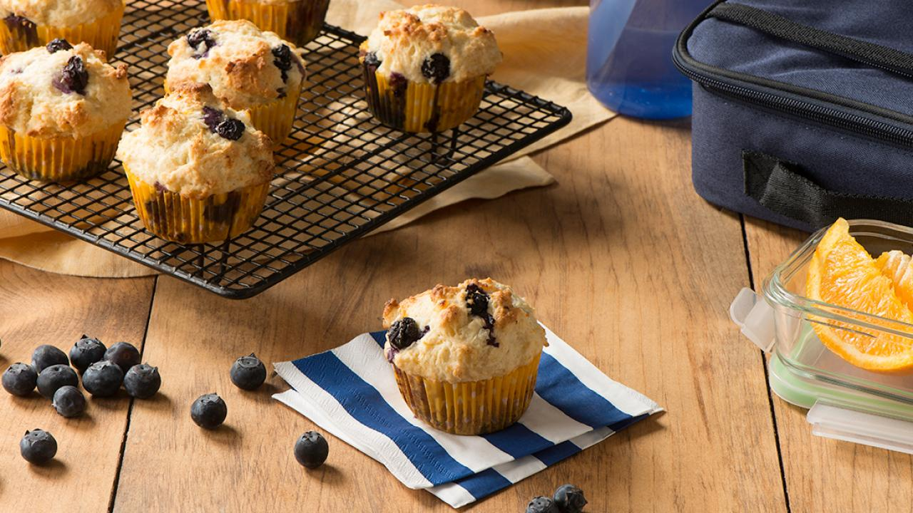 Lemon Blueberry Cottage Cheese Muffins Recipe Get Cracking