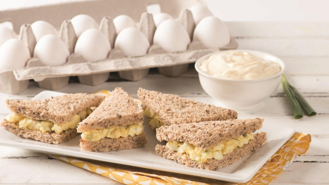 Classic Egg Salad Sandwiches Recipe | Get Cracking
