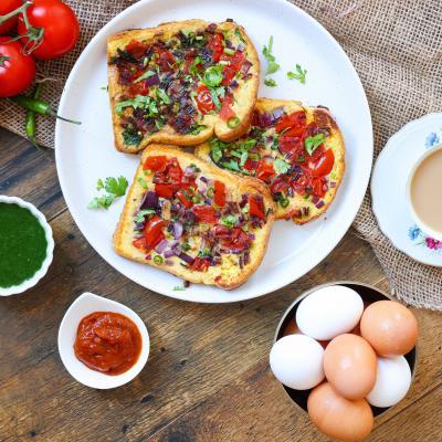 2021 09 17 WED 2021 French Toast Masala Vijaya