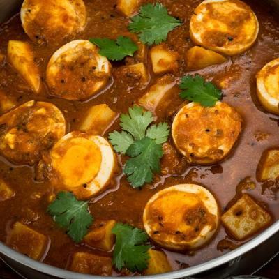 Bengali Five Spice Anda Aloo Curry CMS