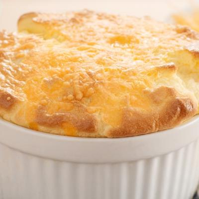 Cheese and Bread Souffle CMS