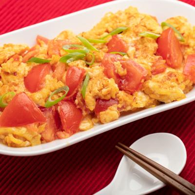 Egg and Tomato Stir Fry