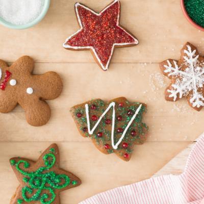 Gingerbread Cookies CMS