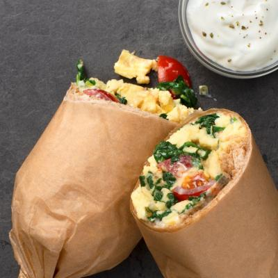 Greek Burrito Snack Wrap 19