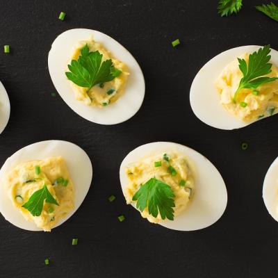 Herbed Devilled Eggs CMS