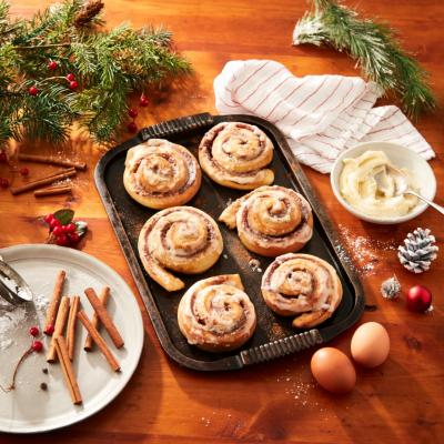 Holiday Cinnamon Buns CMS
