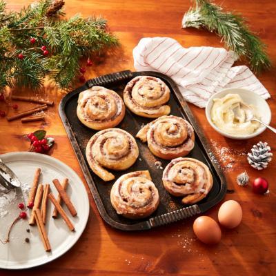 Holiday Cinnamon Buns CMS