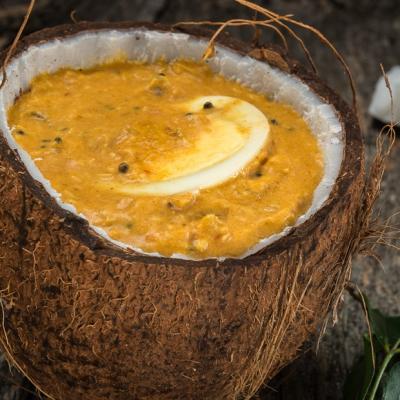 Kerala Coconut Egg Curry CMS