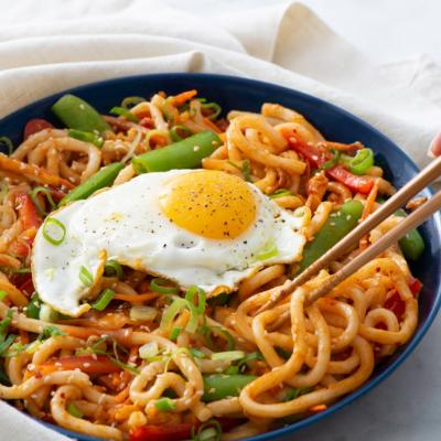 Kimchi Udon Stir Fry with Fried Eggs2 CMS