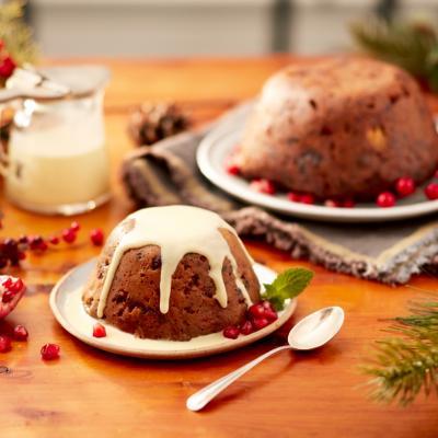 Plum Bread Pudding CMS