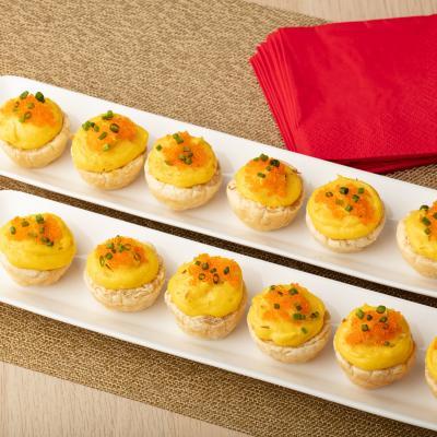 Savoury Egg Tarts