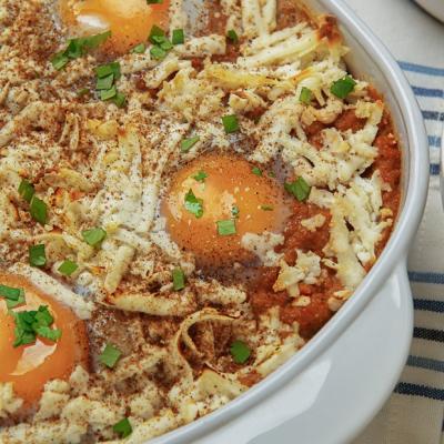 Tikka Masala Baked Eggs CMS