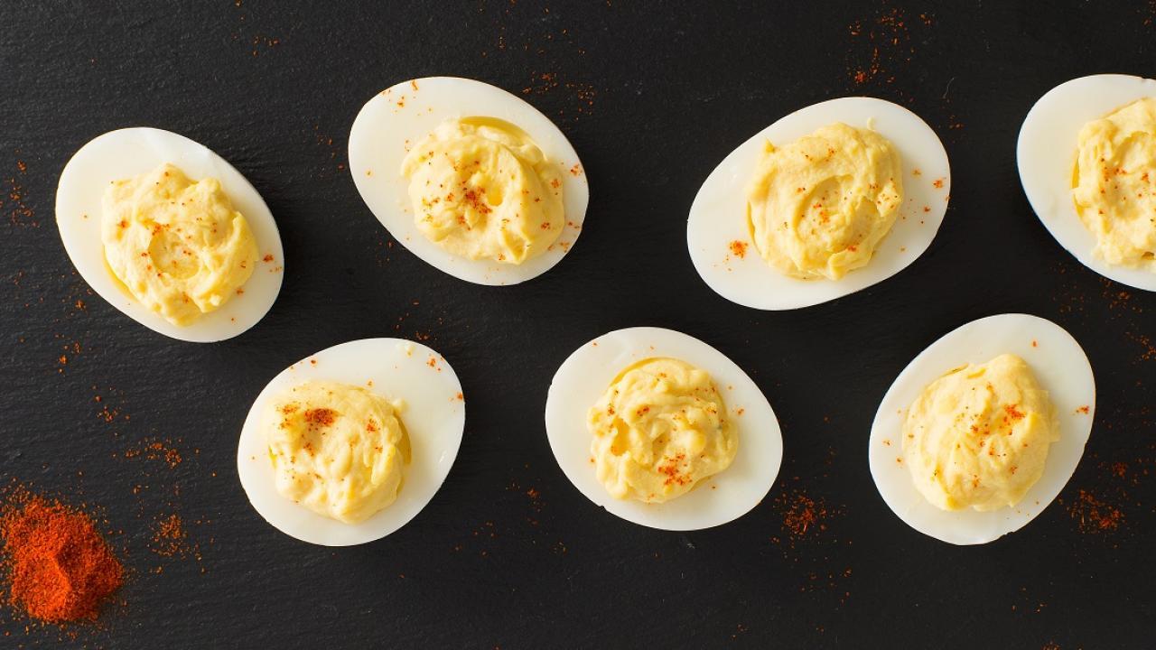 œufs Farcis De Base Lesoeufsca