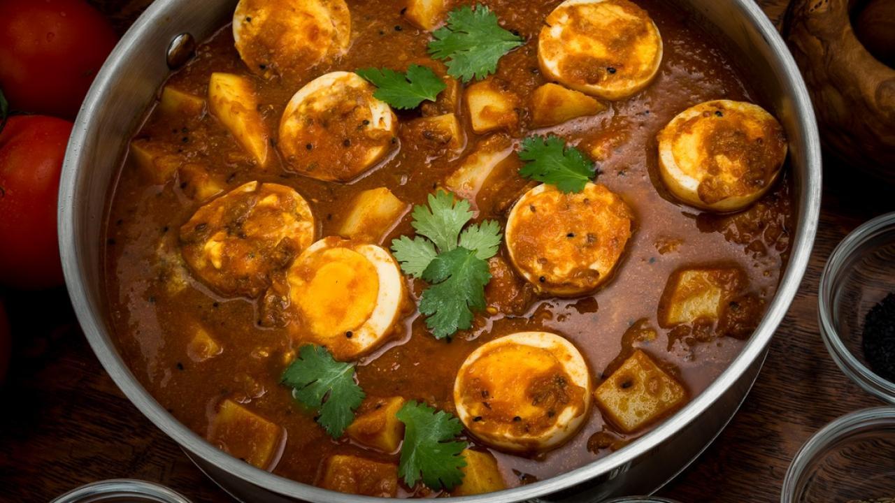 Bengali Five Spice Anda Aloo Curry