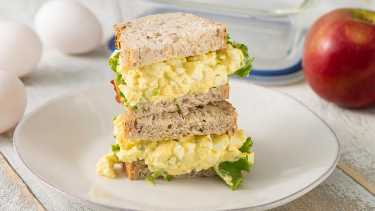 Egg Salad Sandwich Recipe Get Cracking