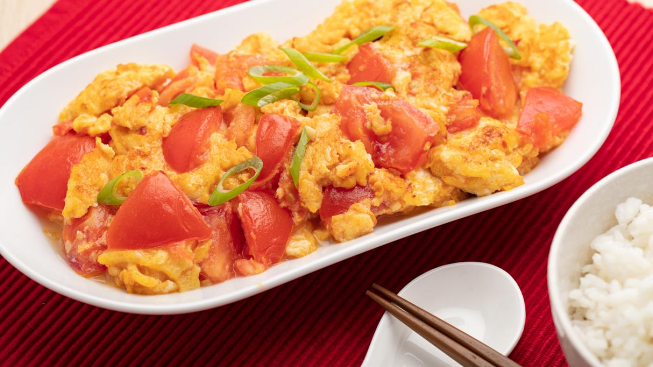 Tomato And Egg Stir-Fry   Get Cracking