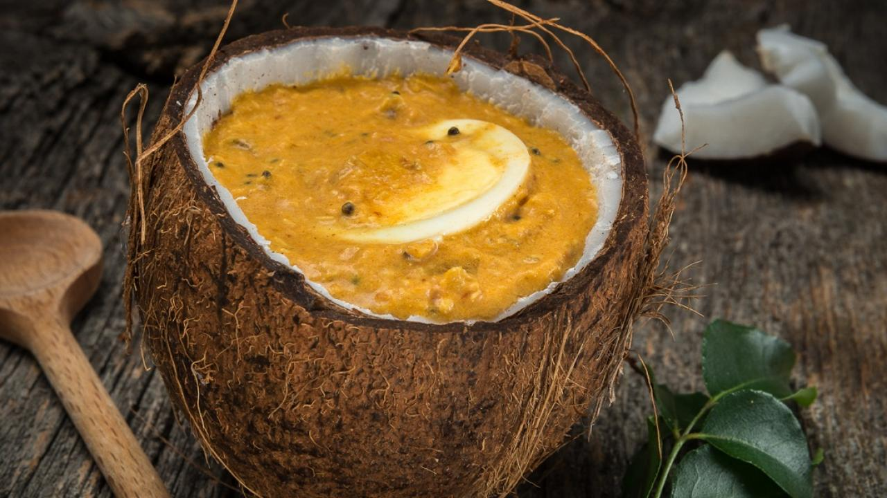 Kerala Coconut Egg Curry | Get Cracking